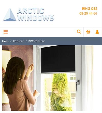 Arctic Windows PVC-fönster